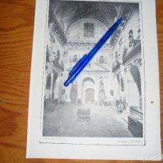 Coleccionismo de Revistas y Periódicos: RECORTE PRENSA : ESPAÑA MONUMENTAL : SACRISTIA SANTO DOMINGO, SALAMANCA.BLANCO Y NEGRO, OCTBRE 1915. Lote 128097951