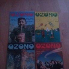 Coleccionismo de Revistas y Periódicos: LOTE DE 4 REVISTAS OZONO 1979. Lote 128105247
