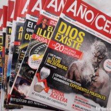 Coleccionismo de Revistas y Periódicos: LOTE DE 12 REVISTAS DE AÑO CERO. Lote 128157818