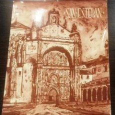 Coleccionismo de Revistas y Periódicos: SAN ESTEBAN ARTÍSTICO. SALAMANCA. SIN FECHA. REPORTAJE FOTOGRÁFICO. PEPE NÚÑEZ LARRAZ. Lote 128172759