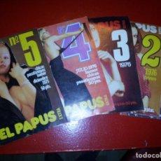 Coleccionismo de Revistas y Periódicos: LOTE 5 REVISTAS EXTRA DE EL PAPUS. Lote 128186251