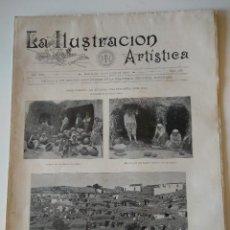 Coleccionismo de Revistas y Periódicos: REVISTA LA ILUSTRACION ARTISTICA Nº965 1900.GRAN CANARAIA ATALAYA,MERCADO BUENOS AIRES. Lote 128213871