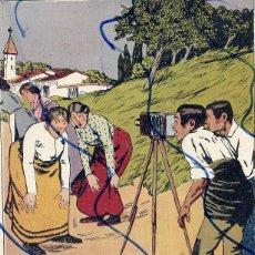 Coleccionismo de Revistas y Periódicos: MANCHON 1910 ILUSTRACION HOJA REVISTA. Lote 128258759