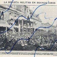 Coleccionismo de Revistas y Periódicos: ARGENTINA 1910 REVISTA MILITAR HOJA REVISTA. Lote 128262271