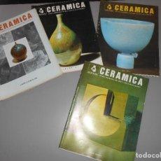 Coleccionismo de Revistas y Periódicos: CERAMICA AÑO1981 -Nº 8-9-10-11. Lote 128263443