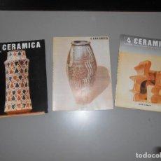 Coleccionismo de Revistas y Periódicos: CERAMICA AÑO1982 -Nº 12-13 Y 14. Lote 128264079