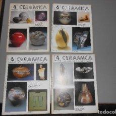 Coleccionismo de Revistas y Periódicos: CERAMICA AÑO1985 -Nº 20-21-22-Y 23. Lote 128272275
