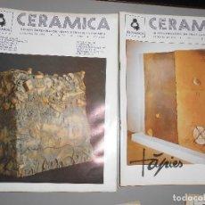 Coleccionismo de Revistas y Periódicos: CERAMICA AÑO1987 -Nº 26-27-28-29. Lote 128273735