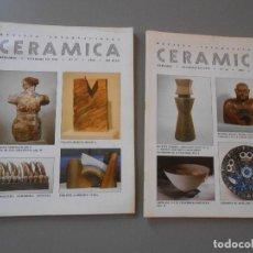 Coleccionismo de Revistas y Periódicos: CERAMICA AÑO1990-Nº 37 Y 38. Lote 128290799
