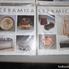 Coleccionismo de Revistas y Periódicos: CERAMICA AÑO1997-Nº 59-60-61 Y 62. Lote 128291683