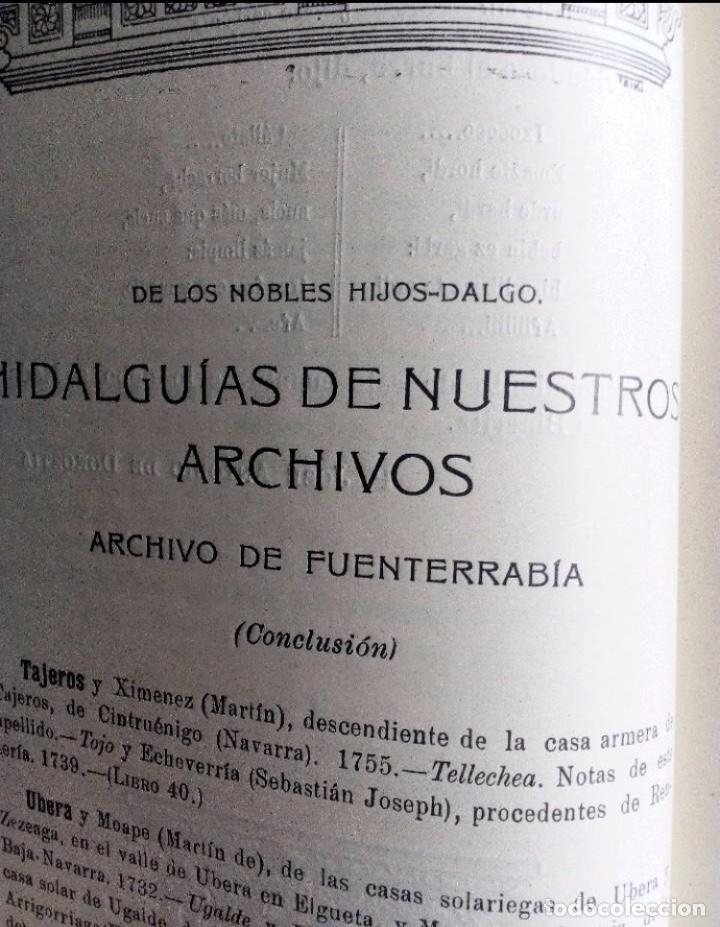 Coleccionismo de Revistas y Periódicos: EUSKALERRIAREN ALDE REVISTA DE CULTURA VASCA 1928 NÚMEROS 291 Y 292 (ABRIL Y MARZO). - Foto 5 - 128397147