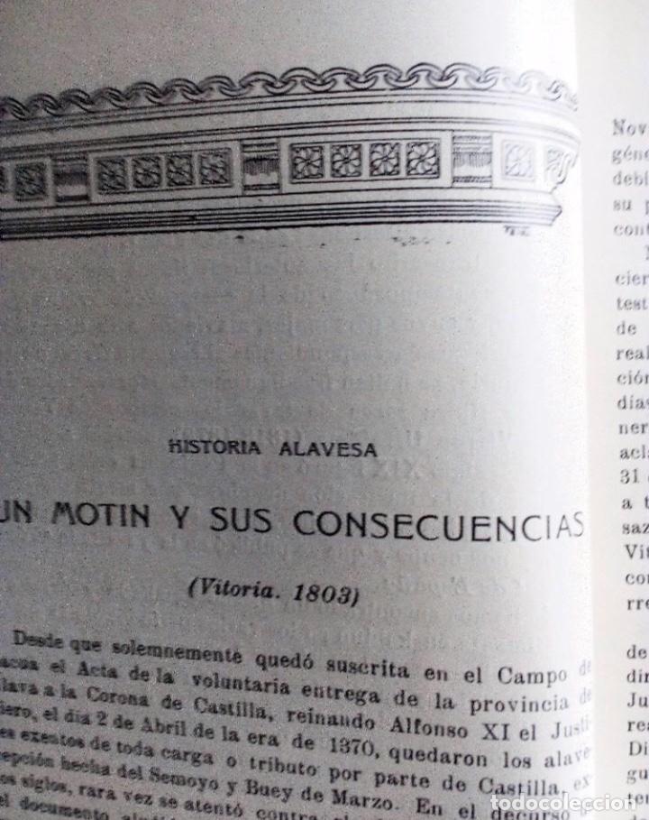 Coleccionismo de Revistas y Periódicos: EUSKALERRIAREN ALDE REVISTA DE CULTURA VASCA 1928 NÚMEROS 291 Y 292 (ABRIL Y MARZO). - Foto 6 - 128397147