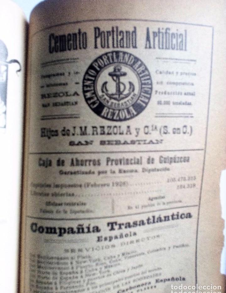 Coleccionismo de Revistas y Periódicos: EUSKALERRIAREN ALDE REVISTA DE CULTURA VASCA 1928 NÚMEROS 291 Y 292 (ABRIL Y MARZO). - Foto 12 - 128397147