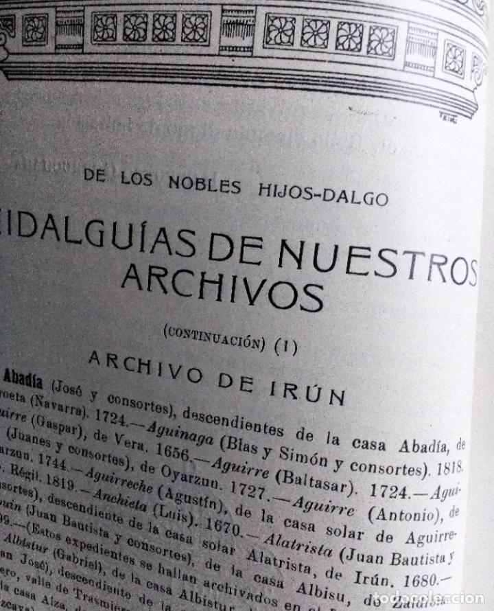 Coleccionismo de Revistas y Periódicos: EUSKALERRIAREN ALDE REVISTA DE CULTURA VASCA 1928 NÚMEROS 291 Y 292 (ABRIL Y MARZO). - Foto 18 - 128397147