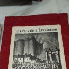 Coleccionismo de Revistas y Periódicos: LOS ECOS DE LA REVOLUCION - HISTORIA VIVA DE VALENCIA - LAS PROVINCIAS '. Lote 126980751
