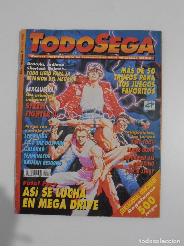 REVISTA TODOSEGA, Nº 2, FATAL FURY, TODO SEGA, VIDEOJUEGOS (Coleccionismo - Revistas y Periódicos Modernos (a partir de 1.940) - Otros)