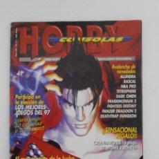 Coleccionismo de Revistas y Periódicos: REVISTA HOBBY CONSOLAS, Nº 77, TEKKEN 3, HOBBYCONSOLAS, VIDEOJUEGOS. Lote 128454611