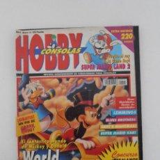 Coleccionismo de Revistas y Periódicos: REVISTA HOBBY CONSOLAS, Nº 15, WORLD OF ILLUSION, HOBBYCONSOLAS, VIDEOJUEGOS. Lote 128462599