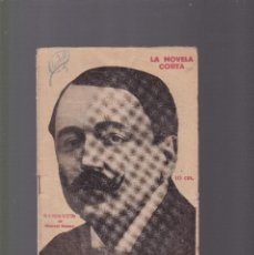 Coleccionismo de Revistas y Periódicos: LA NOVELA CORTA - MANUEL BUENO - EN EL UMBRAL DE LA VIDA - Nº 285 / MAYO 1921. Lote 128517555