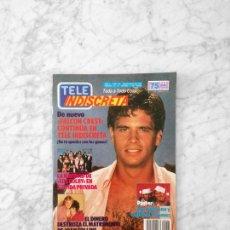 Coleccionismo de Revistas y Periódicos: TELE INDISCRETA - 1987 - LORENZO LAMAS, FALCON CREST, LOS VISITANTES, ANA OBREGON, LOS COLBY. Lote 128608127