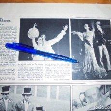 Coleccionismo de Revistas y Periódicos: RECORTE PRENSA : SHOW, ROCIO DURCAL-JUNIOR, PARA AMERICA. ACTUALIDAD, JUNIO 1970. Lote 128608187