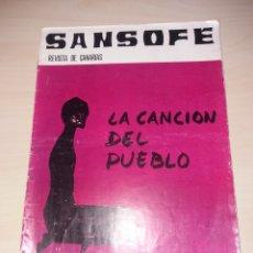 Coleccionismo de Revistas y Periódicos: SANSOFE - REVISTA DE CANARIAS - NUM. 46. Lote 128632503