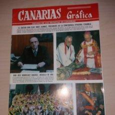 Coleccionismo de Revistas y Periódicos: CANARIAS GRÁFICA - NUM. 249. Lote 128632664