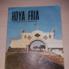 Coleccionismo de Revistas y Periódicos: HOYA FRIA - REVISTA ILUSTRADA DEL CIR 15 / GENERALÍSIMO FRANCO NUM. 3 - 1967. Lote 128632779