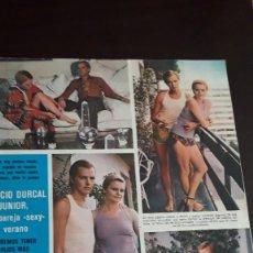 Coleccionismo de Revistas y Periódicos: ROCIO DURCAL ANTONIO MORALES JUNIOR. Lote 128672003