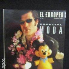 Coleccionismo de Revistas y Periódicos: REVISTA EL EUROPEO N. 21 MARZO 1990 - ESPECIAL MODA. Lote 128683843
