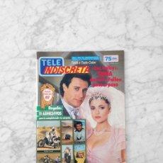 Coleccionismo de Revistas y Periódicos: TELE INDISCRETA - 1987 - LOS COLBY, ERIC CLAPTON, ANTONIO FERRANDIS, PARIS-DAKAR, CORTOCIRCUITO. Lote 128698239