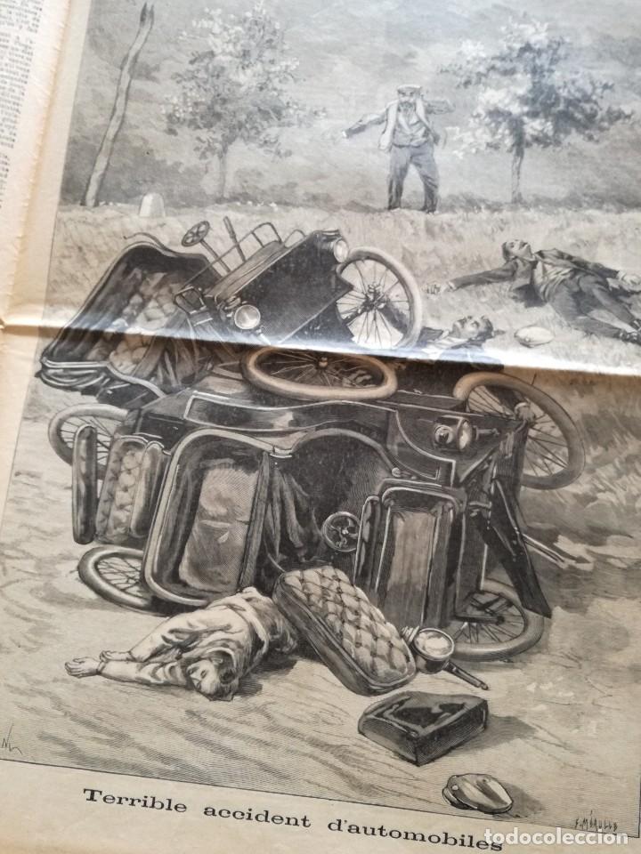 Coleccionismo de Revistas y Periódicos: LE PETIT JOURNAL 15 MAYO DE 1898: GUERRA DE CUBA (HISPANO - NORTEAMERICANA) EN ESPAÑA - Foto 2 - 128701419