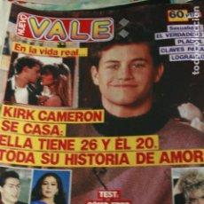Coleccionismo de Revistas y Periódicos: NUEVO VALE Nº 606 TOM CRUISE CARLOS MATA NKOTB KIRK CAMERON ISABEL PANTOJA PATRICK SWAYZE 1991. Lote 128708739