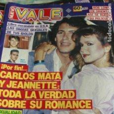 Coleccionismo de Revistas y Periódicos: NUEVO VALE Nº 605 CARLOS MATA ISABEL PANTOJA RAFA SANCHEZ LA UNION 1991. Lote 128709263