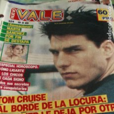 Coleccionismo de Revistas y Periódicos: NUEVO VALE Nº 524 TOM CRUISE MARTA SANCHEZ DON JOHNSON KIRK CAMERON MECANO 1989. Lote 128709771