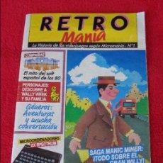 Coleccionismo de Revistas y Periódicos: RETRO MANIA MINI Nº NUMERO 1. Lote 128710047