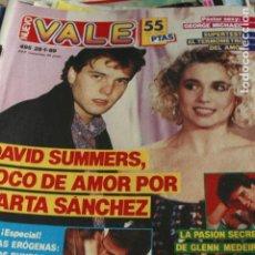 Coleccionismo de Revistas y Periódicos: NUEVO VALE Nº 495 MADONNA EUROPE GEORGE MICHAEL ISABEL PANTOJA 1989. Lote 128710471