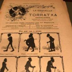 Coleccionismo de Revistas y Periódicos: LA ESQUELLA DE LA TORRATXA. Lote 128748083