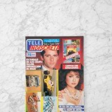 Coleccionismo de Revistas y Periódicos: TELE INDISCRETA - 1987 - LOS COLBY, HOTEL, SUPERTRAMP, EL EQUIPO A, LUZ DE LUNA, PARIS-DAKAR. Lote 128777319