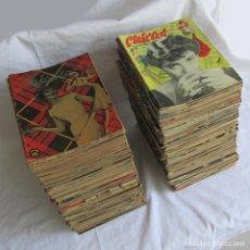 Coleccionismo de Revistas y Periódicos: 188 NÚMEROS DE LA REVISTA CHICAS. 1950-1954. DEL Nº 1 AL 191, FALTAN 23-28 Y 69. Lote 128804727
