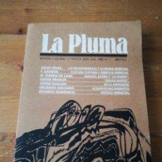 Coleccionismo de Revistas y Periódicos: REVISTA LA PLUMA. 2 ÉPOCA. NÚMERO 1. 1980.. Lote 128864043