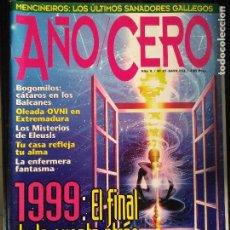 Coleccionismo de Revistas y Periódicos: REVISTA AÑO CERO -. Lote 128898123