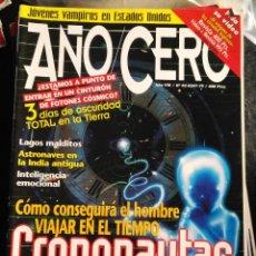 Coleccionismo de Revistas y Periódicos: REVISTA AÑO CERO -. Lote 128898791