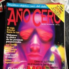 Coleccionismo de Revistas y Periódicos: REVISTA AÑO CERO -. Lote 128898819