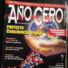 Coleccionismo de Revistas y Periódicos: REVISTA AÑO CERO -. Lote 128899723