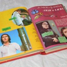 Coleccionismo de Revistas y Periódicos: VINTAGE - TOMO COLECCIÓN COMPLETA - JUNIOR Y KARINA AMAR A LAURA - PERFECTO ESTADO - ENVÍO 24H. Lote 128927303