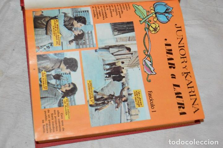 Coleccionismo de Revistas y Periódicos: VINTAGE - TOMO COLECCIÓN COMPLETA - JUNIOR Y KARINA AMAR A LAURA - PERFECTO ESTADO - ENVÍO 24H - Foto 4 - 128927303
