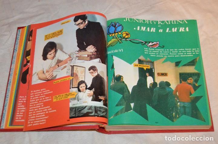 Coleccionismo de Revistas y Periódicos: VINTAGE - TOMO COLECCIÓN COMPLETA - JUNIOR Y KARINA AMAR A LAURA - PERFECTO ESTADO - ENVÍO 24H - Foto 7 - 128927303
