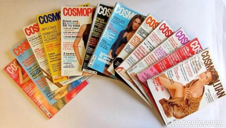 COSMOPOLITAN 1998 LOTE DE 12 REVISTAS DEL AÑO BUEN ESTADO. VER FOTOGRAFÍAS. (Coleccionismo - Revistas y Periódicos Modernos (a partir de 1.940) - Otros)