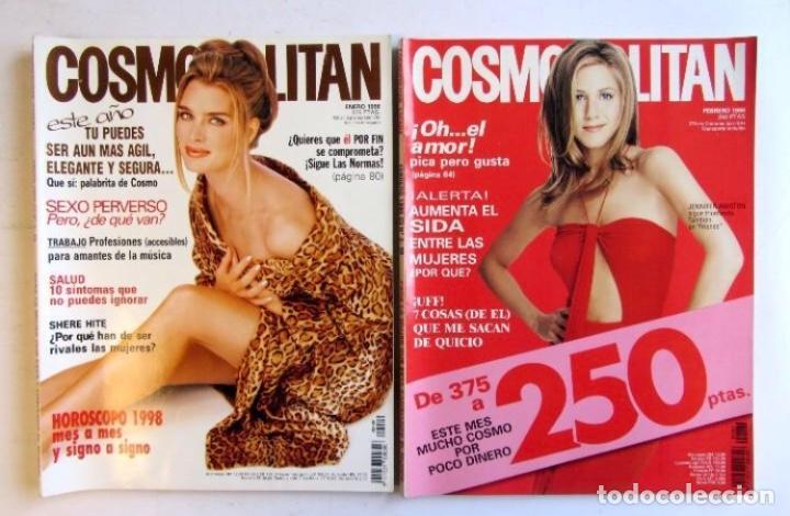 Coleccionismo de Revistas y Periódicos: COSMOPOLITAN 1998 LOTE DE 12 REVISTAS DEL AÑO BUEN ESTADO. VER FOTOGRAFÍAS. - Foto 2 - 128942539